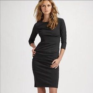 Nicole Miller Studio Ruched Sheath Dress